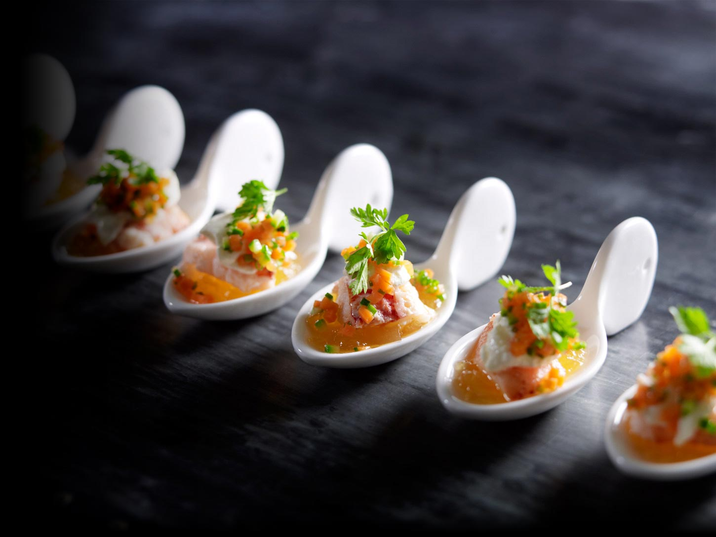 The main kitchen culinary excellence for Canape catering sydney